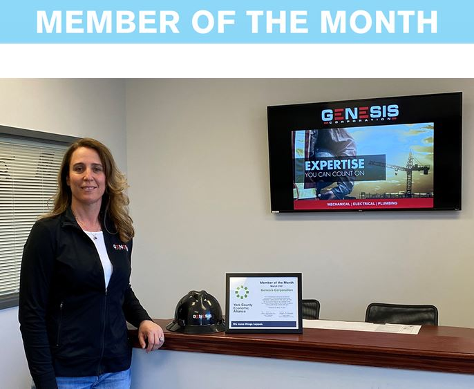 Member of the Month Award